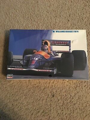 New, Completely Sealed Williams Renault FW14 1/24 Scale By Hasegawa