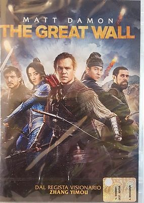 Cofanetto+Dvd Nuovo Sigillato Film The Great Wall  Versione  In Italiano
