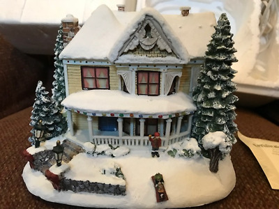 Thomas Kinkade Victorian Homestead Christmas Collection