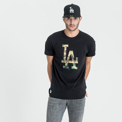New Era Team Apparel Infill Logo Tee La Camiseta Los Angeles Dodgers 11569446