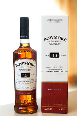 Bowmore 15 Jahre 0,7L 43% Single Malt Scotch Whisky