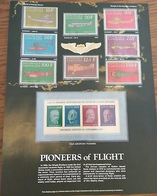 World of Stamps Series. 4-Sets. Early Transportation, Explorers, Cars, Flight
