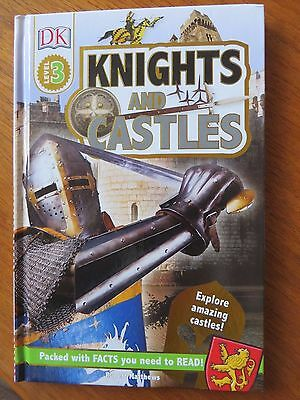 DK Knights and Castles level 3 hardback book ISBN 978-0-2412-5762-3