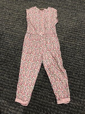 Girls Pink Playsuit From Next Age 2-3 Years