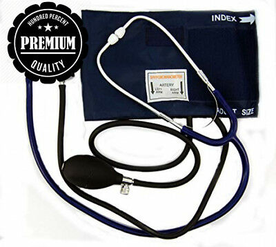 Valuemed Aneroid Clinical Sphygmomanometer & single head Stethoscope medical...