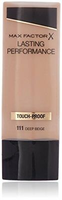 Max factor - Lasting performance, base de maquillaje, color 111 beige profundo