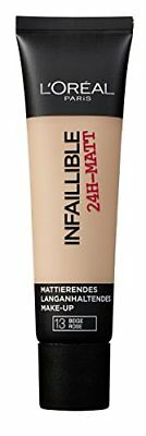 L'oréal paris - Indefectible matt maquillaje 13 rose, (1 x 35 m (Rosa 13)