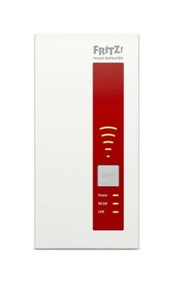 AVM 20002686 FRITZ!WLAN Repeater 1750E Wireless Range Extender
