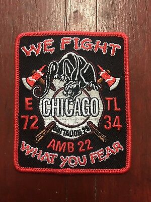 chicago fire department patches