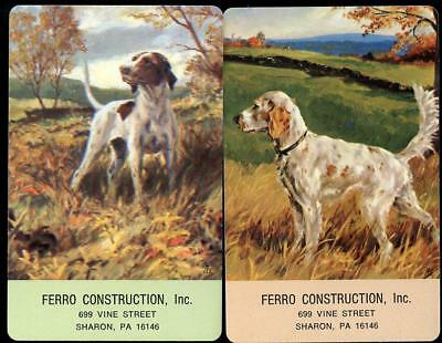Beautiful Vintage Swap Cards Dogs In The Country Mint Condition