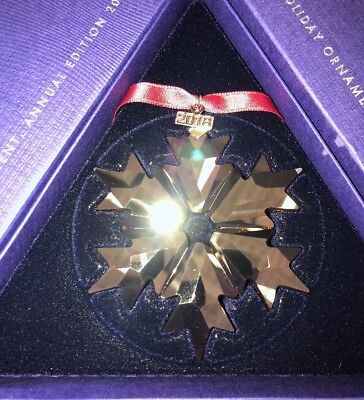 Swarovski Crystal Holiday Christmas Ornament Red, Annual Ed 2018 (Large) 5460487