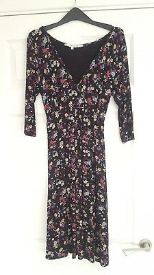 Red Herring Maternity Dress Size 10, Autumn, flowers