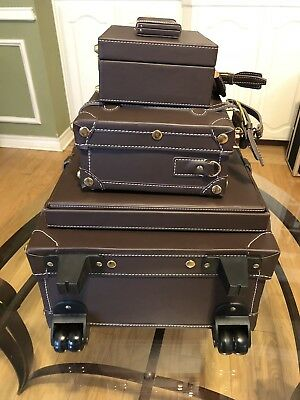 Limited edition Chatterbox Luggage Trunk Set for Scrapbooking Scrapbook