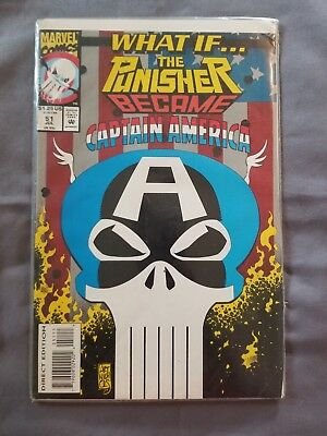 What If #51 The Punisher Became Captain America