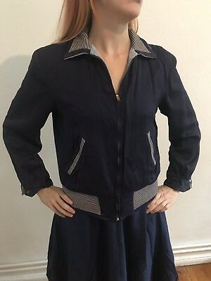 Gabardine jacket 50's rockabilly 1950 jacke