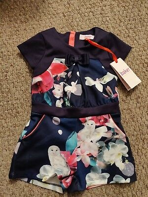 Girls NEW Ted Baker Playsuit 2-3 Years