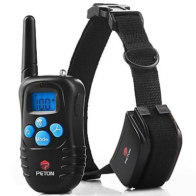 Dog Training Collar With Remote - Rechargeable. Vibration, Beep, Shock Collar