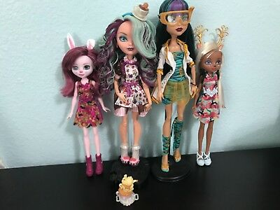 Ever after high and Monster high doll lot