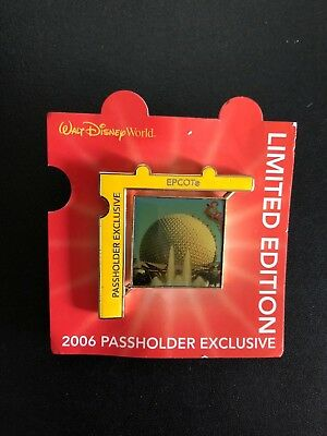 Disney - Disney World - Limited Edition - Passholder Exclusive - EPCOT Pin