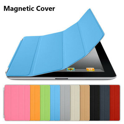 New Fold Flip Smart Magnetic Front Cover Stand Case for iPad 2 3 4 Mini Air Pro