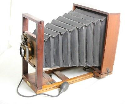 Large View Camera Bausch & Lomb Opt lens 1891