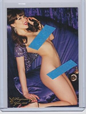 Claire Sinclair Playboy Centerfold Update #7PY Playmate of the Year Card HOT !!
