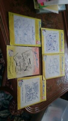 Aunt marthas hot iron on transfers lot of 5