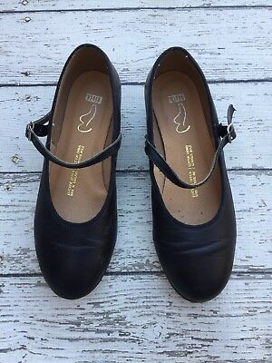 BLOCH Black Mary Jane Tap Shoes 6.5 Techno Tap #4M #3T