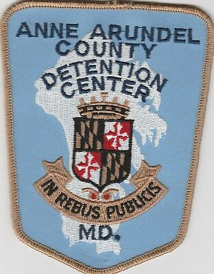 vintage Anne Arundel County, Maryland Detention Center patch MD  title variation