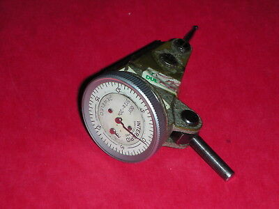 "Interapid 312b-20 Dial Test Indicator .001""  Switzerland WORKS FINE"