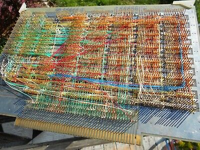 vintage MOSTEK Wire Wrap Card SVC 194V + Chips Intel Scanbe TI Art Gold Recovery
