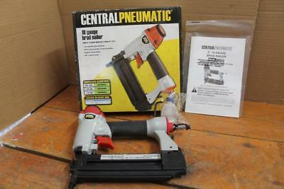 Central Pneumatic - Air Brad Nail Gun - Model 68021 (USED FOR 1 PROJECT)