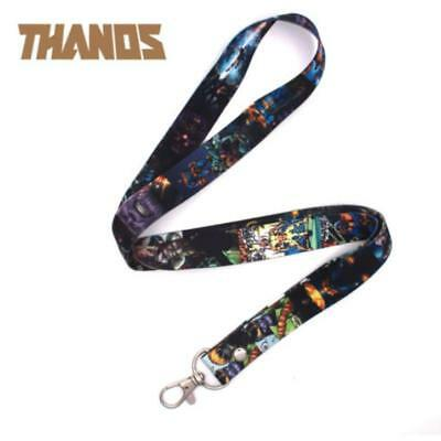 Avengers Infinity War Thanos Cell Phone Rope Chain Strap Clip Lanyard Keychain