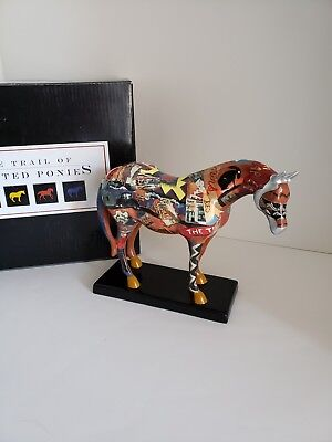 Trail of Painted Ponies ROUTE 66 HORSE #1460 (2003)