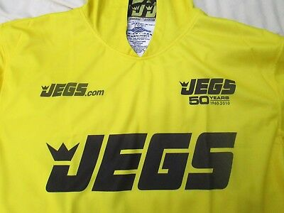 Auto Racing Jegs 50th Promotional Hoodie Sweat Top Shirt New Condition Size XL