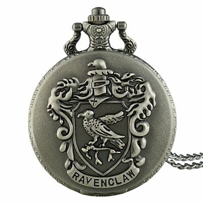Bronze Antique Harry Potter Pocket Watch Vintage Quartz Retro Necklace Pendant