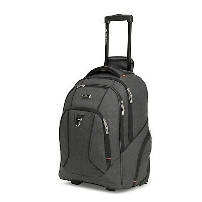 NEW High Sierra Endeavour  Wheeled 15 Inch Rolling Laptop Backpack Mercury