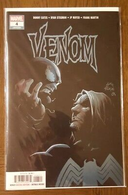 Venom #4 Origin Knull Symbiote God Donny Cates 1st Print Marvel 2018 NM