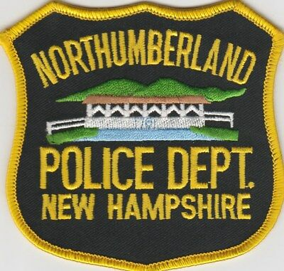 vintage Northumberland, New Hampshire Police Dept patch  NH   covered bridge