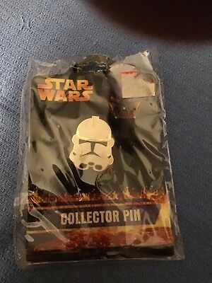 Star Wars Collectors Pin 2005. Never Opened