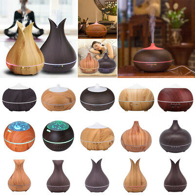 400ml Ultrasonic Humidifier Essential Oil Aroma Diffuser Aromatherapy Purifier