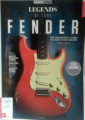 Guitarist Presents Fender Guitars - LEGENDS OF TONE Sale 145 pages NEW bookazine