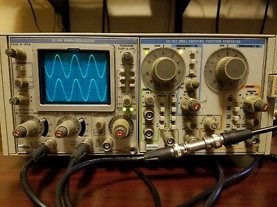 Tektronix FG507 Sweeping Function Generator Plug In Module for TM500 Chassis