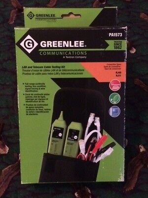 Greenlee 1573 Tone & Probe Plus Cable-Check UTP/STP Cable Tester