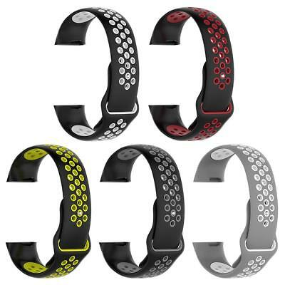 Soft Silicone Watch Wrist Band Strap Replacement for Fitbit Charge 3 Bracelet