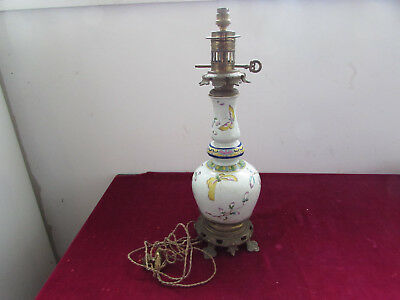 antique great lamp oil electrified