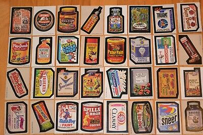 Wacky Packages 1974, Trading Card, Full Set (-1), 2 Complete Puzzles And Extras