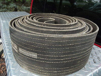 """Vintage  Hit And Miss Engine Endless Belt Flat Pulley Steam Engine 6"""" X 23'"""