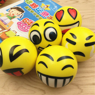 EmojiSmile Face Anti Stress Reliever Ball ADHD Autism Mood Toy Squeeze Relief HQ