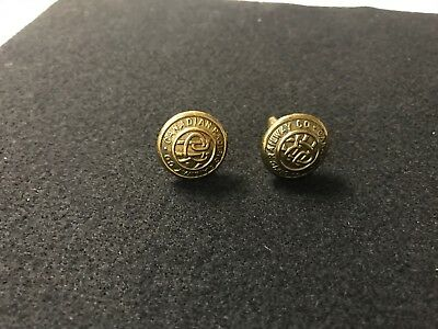 Canadian Pacific Railways Co. Vintage Railroad Train Cufflinks Scully Montreal